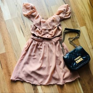 UO ruffle dress